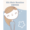 Kit hair routine detox